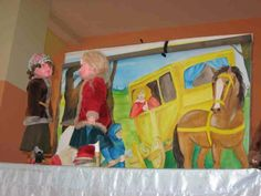 "Puppet theatre ""Queen of the Snow"""