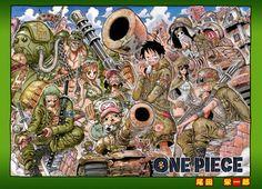 One Piece Camo.