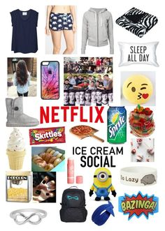 """Sleepover with the guys"" by teen-wolf-lover ❤ liked on Polyvore"