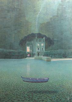 Philippe Charles Jacquet ~ La Maison (The Mansion)