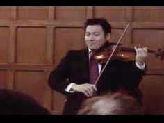 Conrad Chow plays Chopin Nocturne in C# minor on Violin Hart House, Nocturne, Recital, Chow Chow, Violin, My Music, Plays, Games, Playing Games