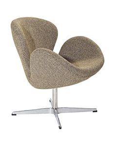 Modway Wing Lounge Chair (Oatmeal)