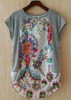 Customização de blusa