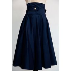 1950s inspired nautical circle skirt