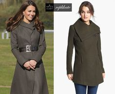 Kate Middleton Style Inspiration. Shop Reiss 'Angel' coat repliKate