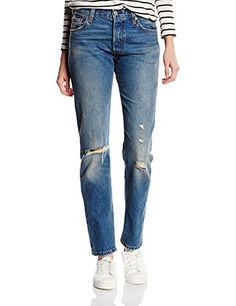 Levi's damen skinny jeans modern demi curve