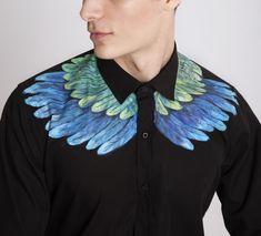 Amazing handpainted shirt