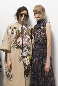 Christian Dior Fall 2017 Couture Fashion Show Backstage, Runway, Couture Collections at TheImpression.com - Fashion news, street style, models, backstage, accessories, and more