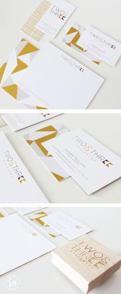 Logo and Brand Design :: Two & Three Designers :: Saffron Avenue