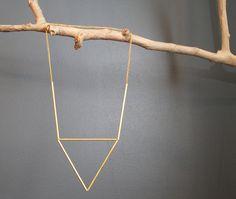 Himmeli necklace - stackable. 32usd, Megin Sherry on Etsy.