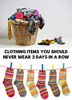 We all have those clothing items that we simply can not separate from.... but find out the Clothing Items You Should Never Wear 2 Days In A Row!