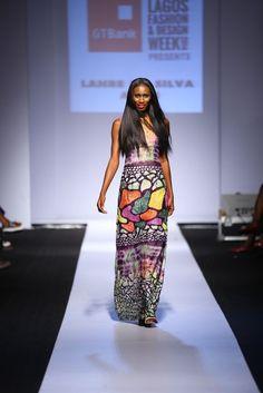 GTBank Lagos Fashion & Design Week 2014 Lanre Da Silva Ajayi - Bellanaija - November2014012