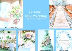 """Si votre thème est la #mer , #plage , #été , le #bleu  #clair est la couleur indispensable ! Personnellement le #bleu #clair me donne déjà l'impression d'être en #vacances ! Pas vous ? J'avoue que je ne peux plus penser #bleu sans me dire """"Le bleu du ciel n'est pas le bleu de la mer..."""" Vous reconnaissez ? ;-) Le #Bleu est la couleur parfaite pour un thème sur #Vaiana :D Mod Wedding, Blue Wedding, Wedding Event Planner, Wedding Pinterest, Dire, Impression, Weddings, Table Decorations, Shit Happens"""