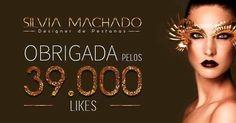 Muito obrigado a cada um de vocês 🙏🏾😀 https://www.facebook.com/pages/Silvia-Machado-Designer-Pestanas/561010653948802