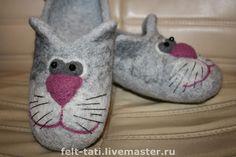 a174ab113530 Обувь ручной работы. Ярмарка Мастеров - ручная работа Тапочки Котята для  лапочки.. Handmade.