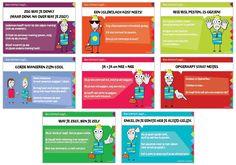 Sociale vaardigheden met Ben Correct - Met dit spel kun je discussiëren met kinderen. Je leest telkens de gespreksballonnetjes en laat de kinderen zeggen wat ze daar van vinden. Iedereen luistert naar elkaar. In dit spel is het belangrijk dat de kinderen hun eigen mening durven zeggen.