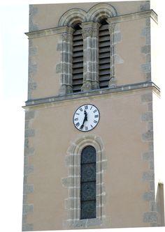 Cadran Bodet installé à Saint-Aubin-de-Locquenay, Pays de Loire - France.