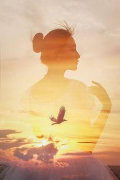 Le cœur d'une femme est un oiseau qui niche sur les rivages de l'Amour