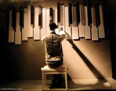 """""""sing us a song, you're the piano man......""""'pinned by Ton van der Veer"""