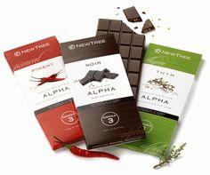 New Tree Chocolate bar design packaging