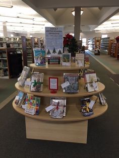 Winter Reading Display at the Graham Public Library