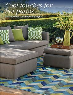 Shop these cool touches for hot patios!