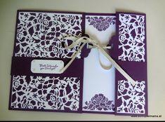 Hochzeitskarte in A4  mit Stampin'up! @ Ute Lamprecht Up, Frame, Home Decor, Card Wedding, Picture Frame, Decoration Home, Room Decor, Frames, Home Interior Design