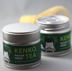 Kenko Matcha Green Tea tins
