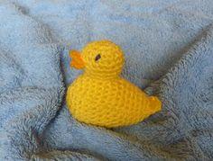 Free Ami Duck from Ravelry, thanks so xox