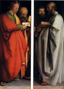 Les Quatre Apôtres, Munich - (Albrecht Durer)