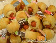 Little Smokie Airplane Appetizer Recipe