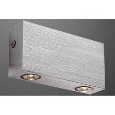 House Additions Gordon 2 Light Flush Wall