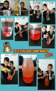 Lava-lamp maken deel 1