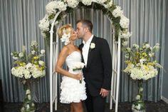 Rafael and Sylvie van der Vaart renewed their wedding vows in Las Vegas. Yes, Vegas.