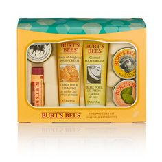 burts bees hands toes and lip kit £14.99