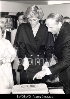 September 22 1988 Diana visits St. Catherine's Hospice in Crawley in Surrey Sussex