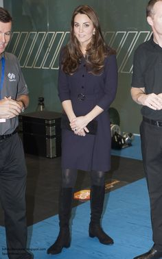 Duchess Kate: Wednesday, 12 November 2014. The Duchess of Cambridge continued her return to engagements with a visit to SportsAid athlete workshop at the GSK Human Performance Lab in Brentford, West London, this afternoon. Kate has been patron of the organisation since April 2013 and selected the organisation following her role a a London 2012 ambassador during the games.