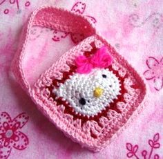 Hello Kitty Crochet - I'm betting I'll be required by a certain little girl to make one of these! :-)