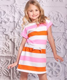 Infused with the charm of twinkling stars and giggling moons, this comfy cotton dress comes straight from the Bella Noche collection. The A-line cut and easy-on style create a sweet and sassy look.100% cottonMachine wash; tumble dryImported