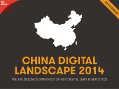 Social, Digital & Mobile in China 2014 by We Are Social | Our new China report profiles a variety of critical data points, including the penetration rates of different technologies, the top-ranking social platforms, and a wealth of interesting facts and figures on Chinese netizens' behaviour. (13/04/14) || Market Research >
