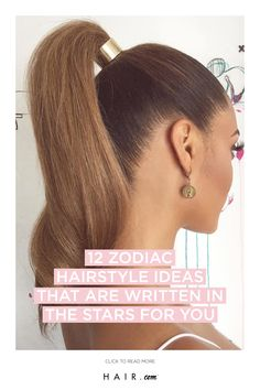 Here are the 12 zodiac hairstyle ideas that will match your sign and stars. hairstyles 12 Zodiac Hairstyle Ideas That Are Written In The Stars For You 12 Zodiac, Zodiac Signs, Hairstyle Ideas, Hairstyles, Thing 1 Thing 2, Loreal, Hair Beauty, Stars, Fashion