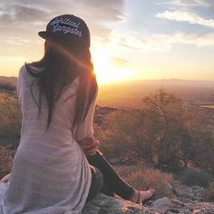 Spiritual Gangster hats and sunsets