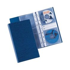 Album Porta cd Dvd Sei Rota Blu 12,5x30 cm 20 Buste - https://www.cancelleria-ufficio.eu/p/porta-cd-dvd-sei-rota/
