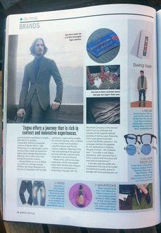 ON TREND: Mavericks Laces in Men's Style Magazine AW 2013 Issue. Mens Fashion Magazine, Swing Tags, Oliver Peoples, Men's Style, Celebrities, Fabric, Color, Male Style, Tejido
