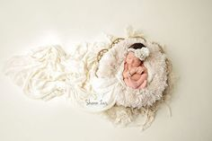 Absolutely luxurious! This beautiful cream fur is so nice and plush (the nap is 1-2 inches high) and is the perfect touch for your newborn baby photography session! Fits perfectly in baskets, trench b