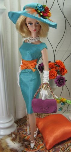 True Colors for Silkstone Barbie on Etsy now