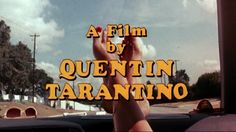 A film by Quentin Tarantino = marvelous.