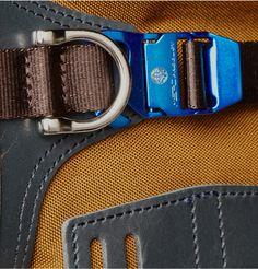 Master-Piece Potential Leather-Trimmed Cordura Backpack | MR PORTER
