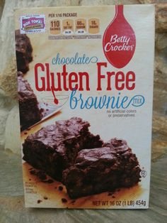 Actually taste like regular brownies. Available lots of places.  Check bottom shelf.