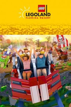 Show your family more fun than they've ever experienced at Legoland in Orlando, Florida. You'll save on tickets to every theme park and show in and around the city. Orlando Travel, Orlando Vacation, Orlando Florida, Florida Resorts, Florida Vacation, Crayola Experience Orlando, Discount Disney Tickets, Amblin Entertainment, Busch Gardens Tampa